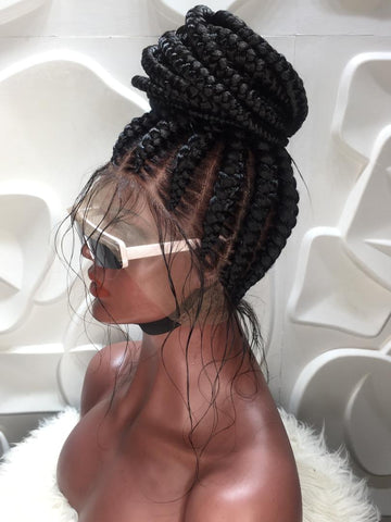 AMAKA CORNROW. (FULL LACE)