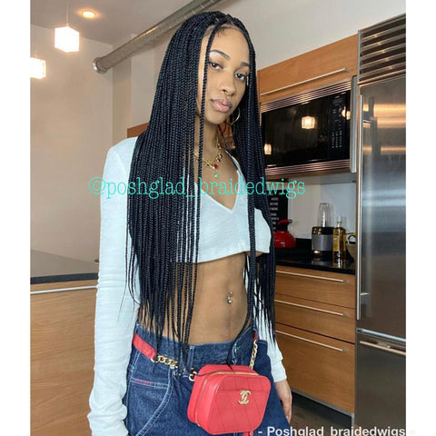 SHADE KNOTLESS BOX BRAID FULL LACE