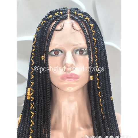 IFE BOX BRAID. (FULL LACE)
