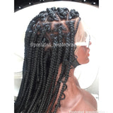 KEMI GODDNESS JUMBO BOX BRAID. (FULL LACE)