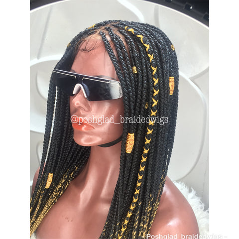 SHADE KNOTLESS (FRONTAL 13X4 LACE)