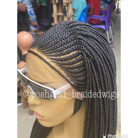 APRIL CORNROW { FRONTAL 13 by 4}