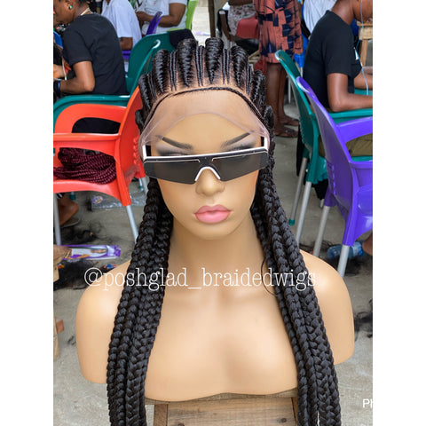 ARLET CORNROW BRAIDED WIG