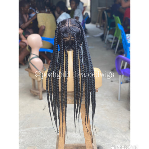 AMY LARGE JUMBO KNOTLESS BOX BRAID
