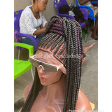 AVALON CORNROW BRAIDED WIG
