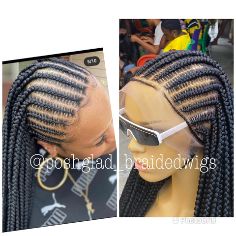 BIOLA CORNROW FULL LACE