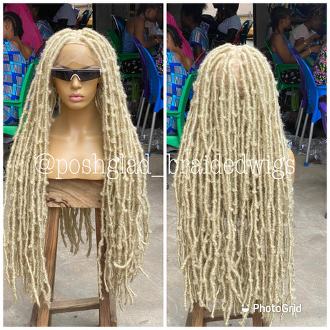 DESTRESS FAUX LOCS BLONDE(dreads)