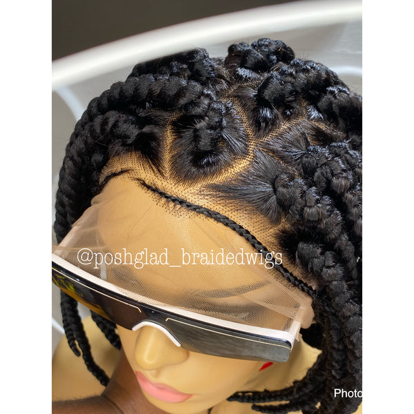 UCHE BOB TRIANGLE PART (full lace )
