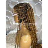 QUEEN GODDESS CORNROW (FULL LACE)