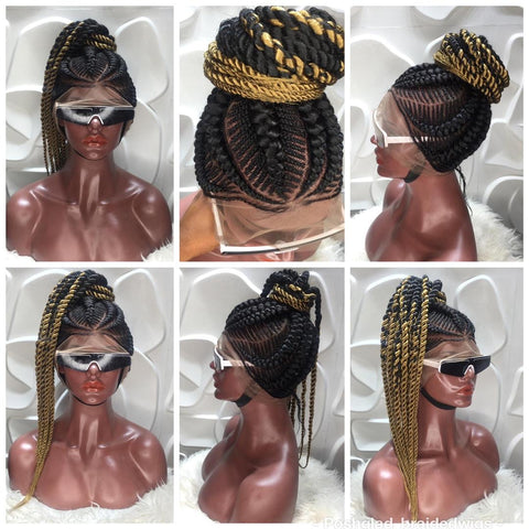 AMINAH CORNROW. (FULL LACE)