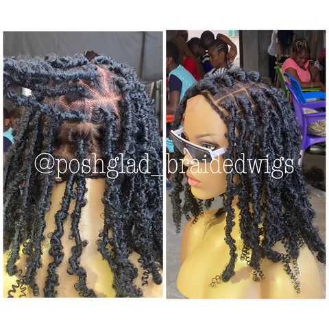 REBBECA BUTTERFLY DESTRESS FAUX LOC(dreads)