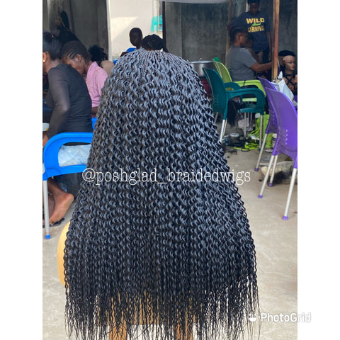 AKIRA WATERMELON TWIST (4by4closure )
