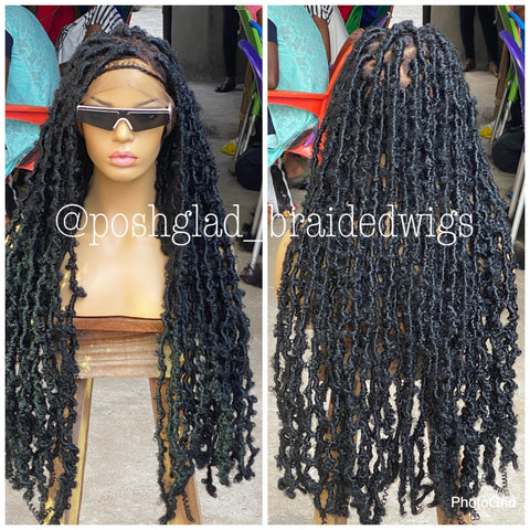 BUTTERFLY DESTRESS FAUX LOCS (dread locs)