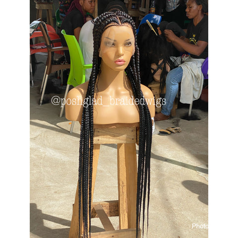 HD POP SMOKE CORNROW FULL LACE (COST EXTRA $150  FOR HD)