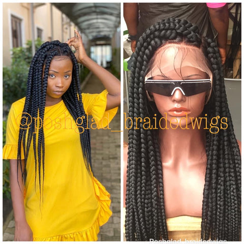 KEMI JUMBO BOX BRAID. (FULL LACE)
