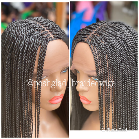 SENEGALESE TWIST FULL LACE