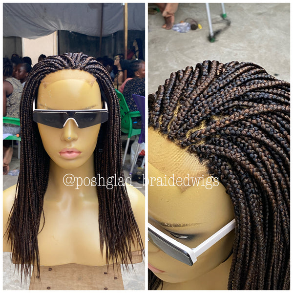 IFE BOX BRAID (closure 4 by 4)
