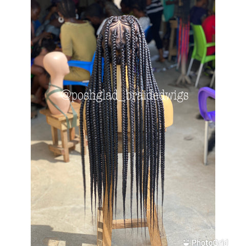AYLA LARGE JUMBO KNOTLESS BOX BRAID