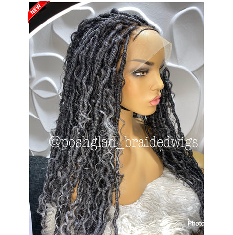 AFRICAN QUEEN FAUX LOCS (FULL LACE)