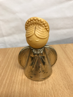 Vintage AVON 'Golden Angel' Perfume Bottle (circa 1970's)