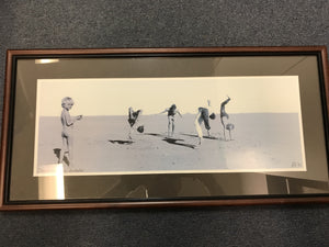 Alastair McLaughlin Desert Acrobats Framed