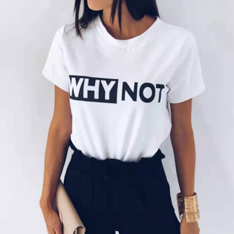 WHY NOT Tee - The Bella Luna Shop