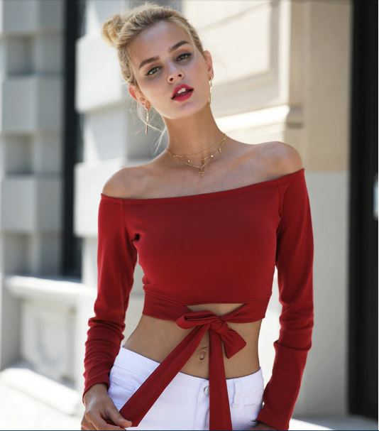 Miley Top - The Bella Luna Shop