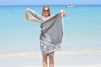 How do you make a dress from your hammam towel?