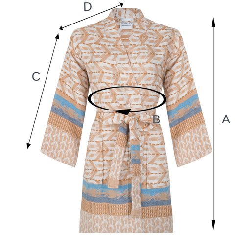 SIZE BATHROBE ZUSENZOMER