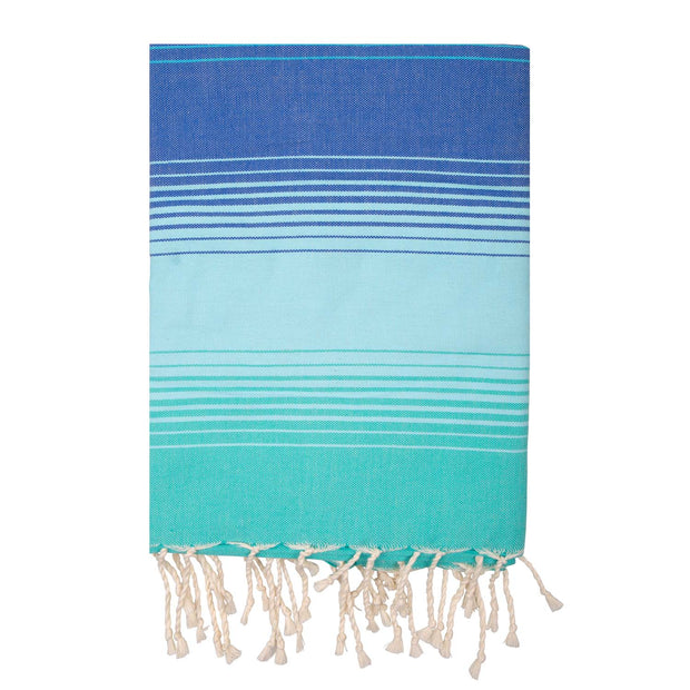 Fouta CASAD XXL - 200 x 200 cm - CHEERFUL stripes