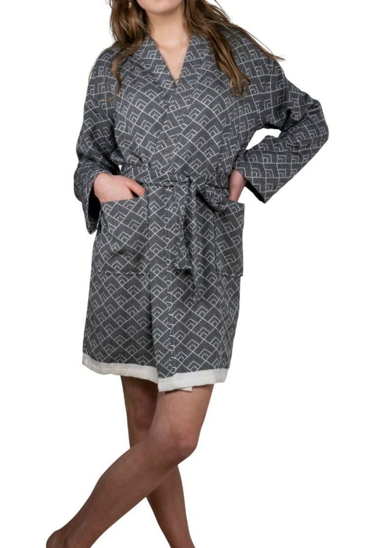 Hammam Bathrobe GEO for Ladies - Organic cotton