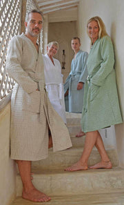Bathrobe HONEYCOMB for men and women