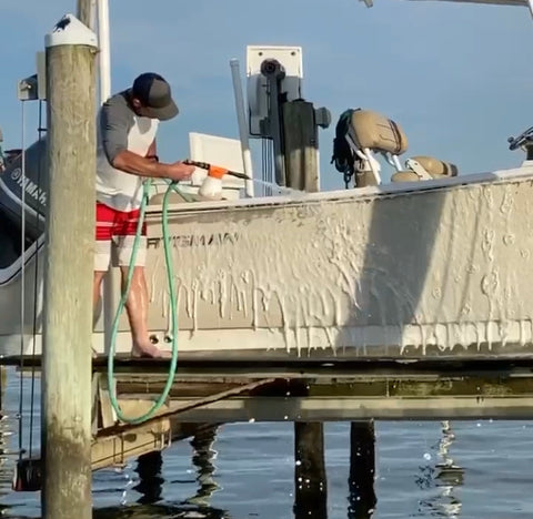 Salty Hull Boat Foam Gun