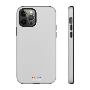 NIAEM Grey Tough iPhone Cases
