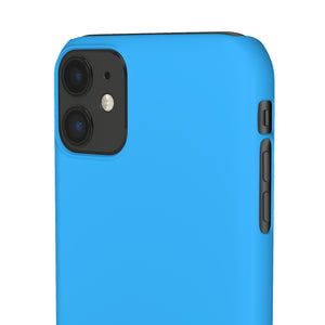 NIAEM Royal-Blue Snap iPhone Cases