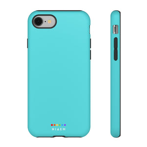 NIAEM Light-Blue Tough iPhone Cases