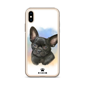 Chihuahua Dog Illustration iPhone Cases