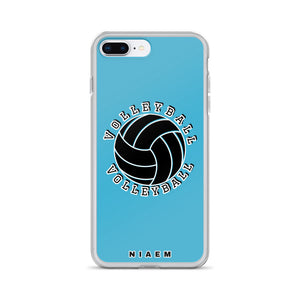 Blue volleyball iPhone 7 Plus/8 Plus phone cases