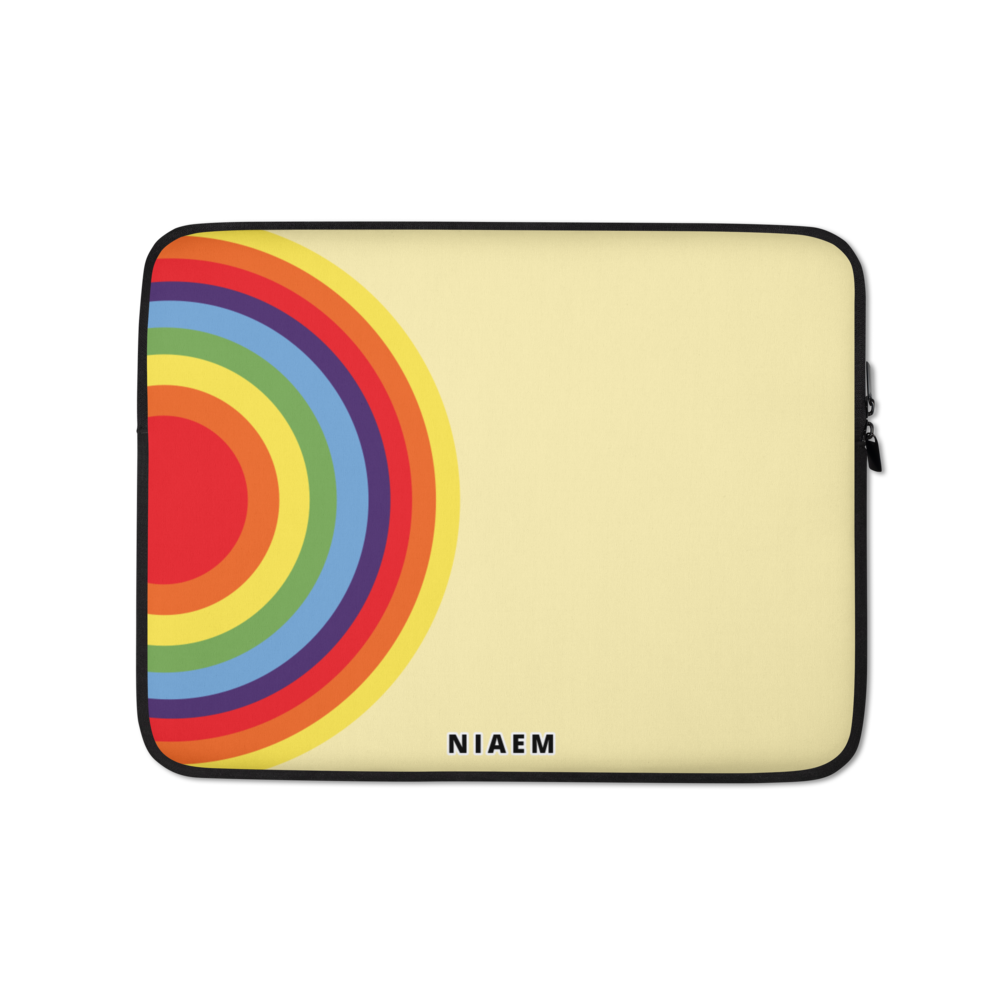 Colorful Circle Laptop Sleeve II