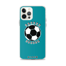 Load image into Gallery viewer, Soccer iPhone Case (Blue 3)