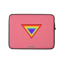 Load image into Gallery viewer, Pink Triangle MacBook Laptop Sleeve