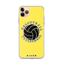 Load image into Gallery viewer, Volleyball iPhone Case (Yellow 1)