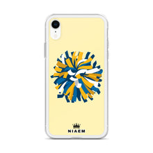 Load image into Gallery viewer, Cheerleader iPhone Case (Yellow 2)
