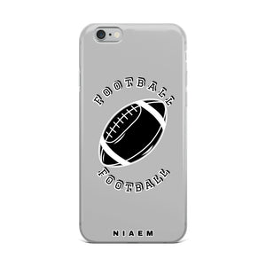 Football iPhone Case (Grey 2)