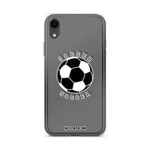 Soccer iPhone Case (Grey)