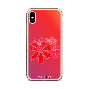 flower pressed phone case