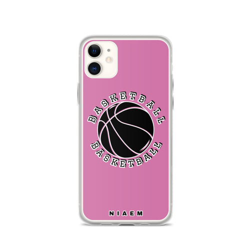 Basketball iPhone Case (Pink 1)