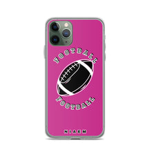 Load image into Gallery viewer, American Football iPhone Case (Pink)