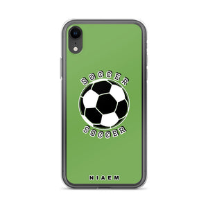 Soccer iPhone Case (Green)