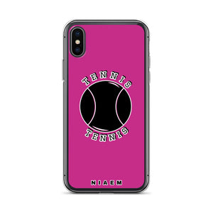 Tennis iPhone Case (Pink)